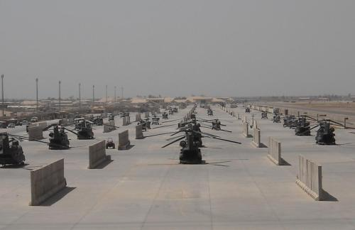 Army Helo Ramp