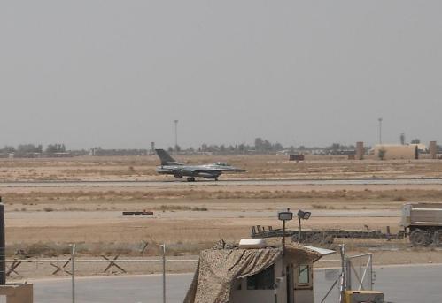 F-16 Landing Roll